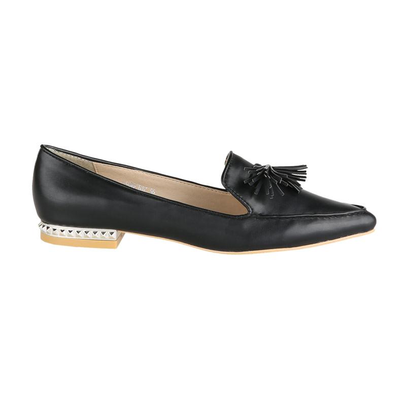 Amante Sepatu Flat Laura D17 Hitam