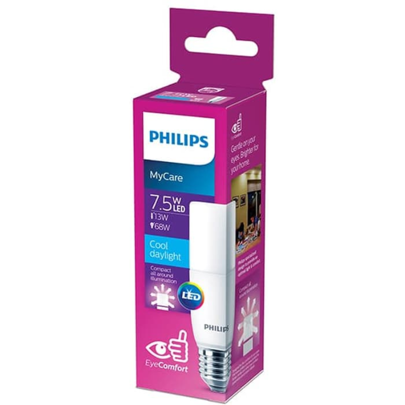 Philips LED Stick 7.5W E27 6500K Putih Buy2Get2 (4pcs)