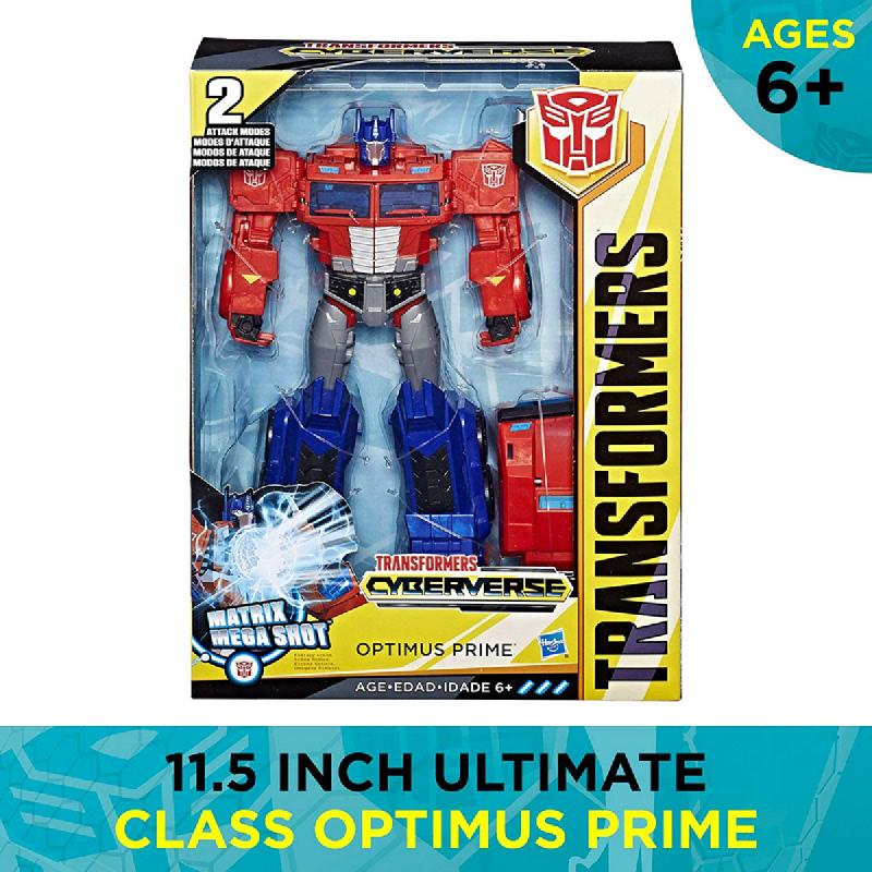 Transformers Cyberverse Ultimate Class Optimus Prime
