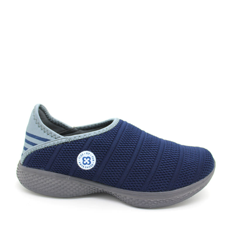 Anca Slip On Shoes V91-3 Navy