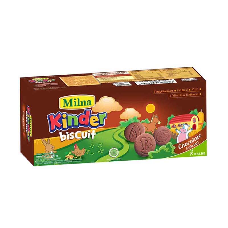 Milna Toddler Biskuit Rasa Coklat 110 Gr