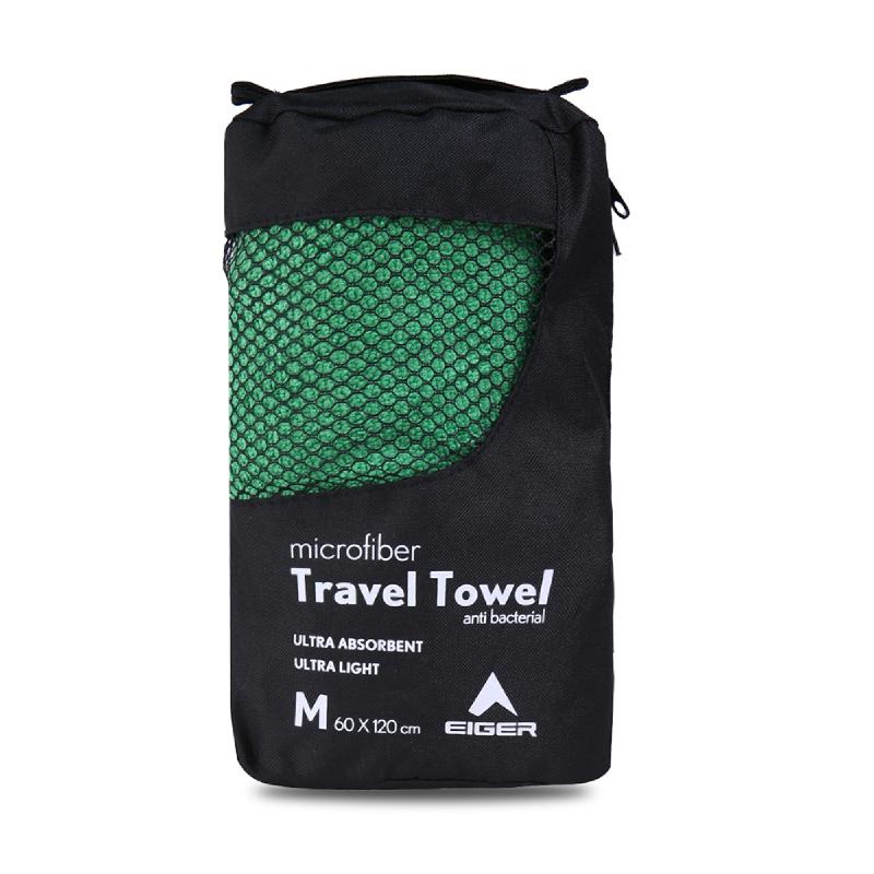 Eiger Travel Towel - Green