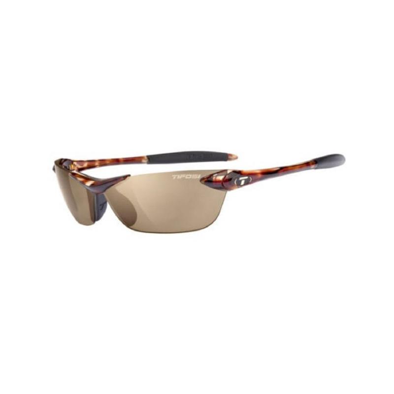 Tifosi Seek Tortoise Sunglasses Brown Polarized Lens