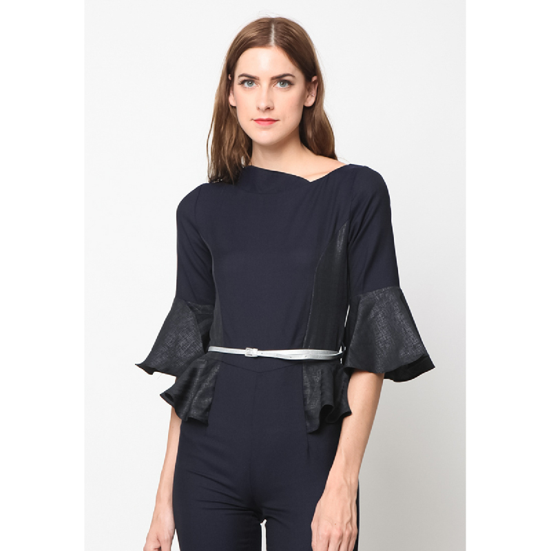 Agatha Casual Woman Jumpsuit Navy