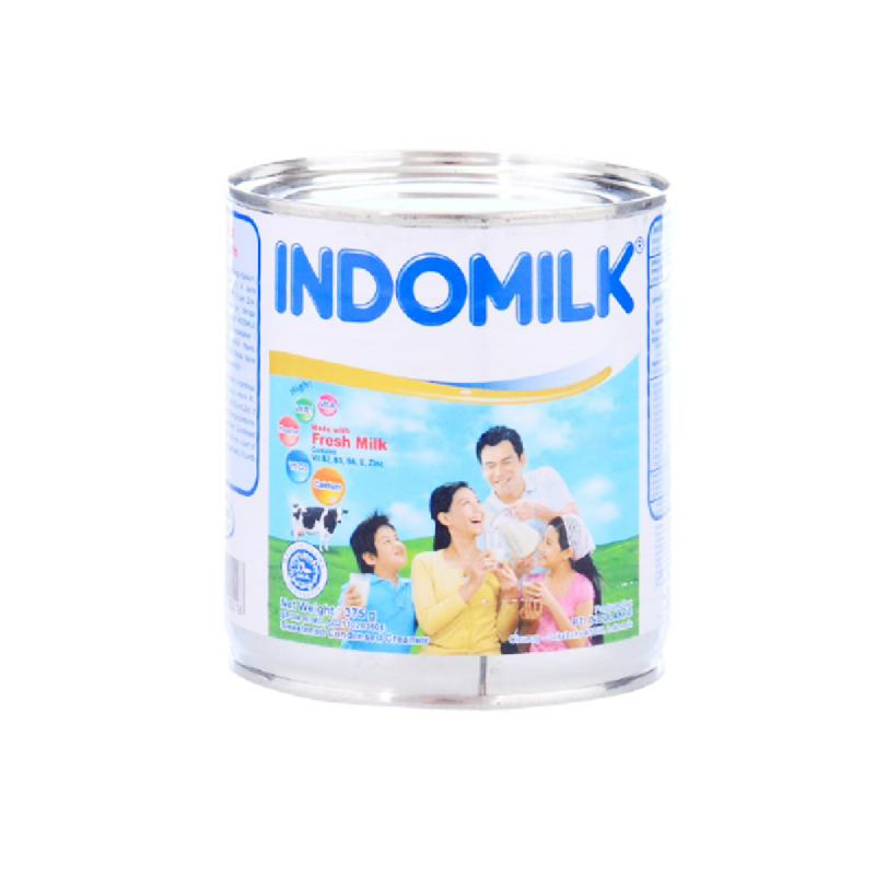 Indomilk Skm Plain 375 Gr
