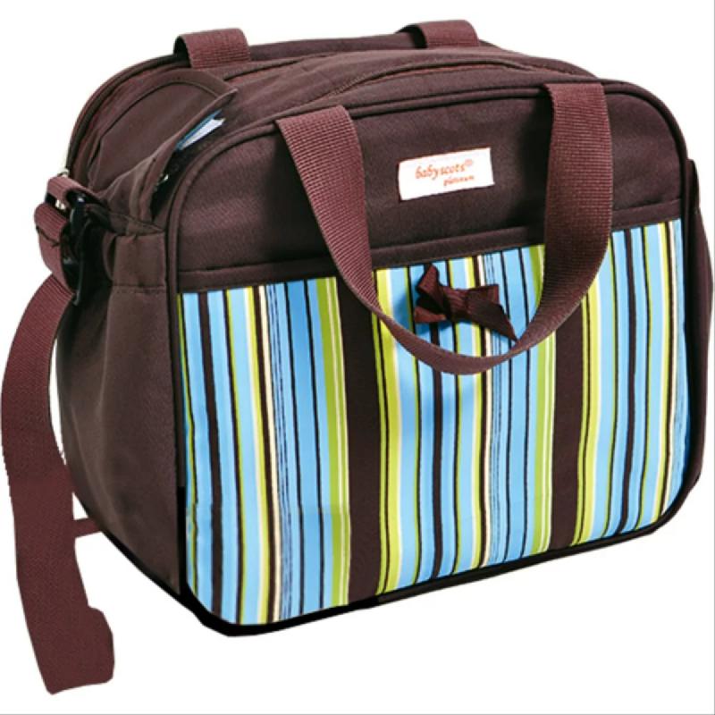 Baby Scots PlatinumScots Mommy Bag 026MB026 Cokelat
