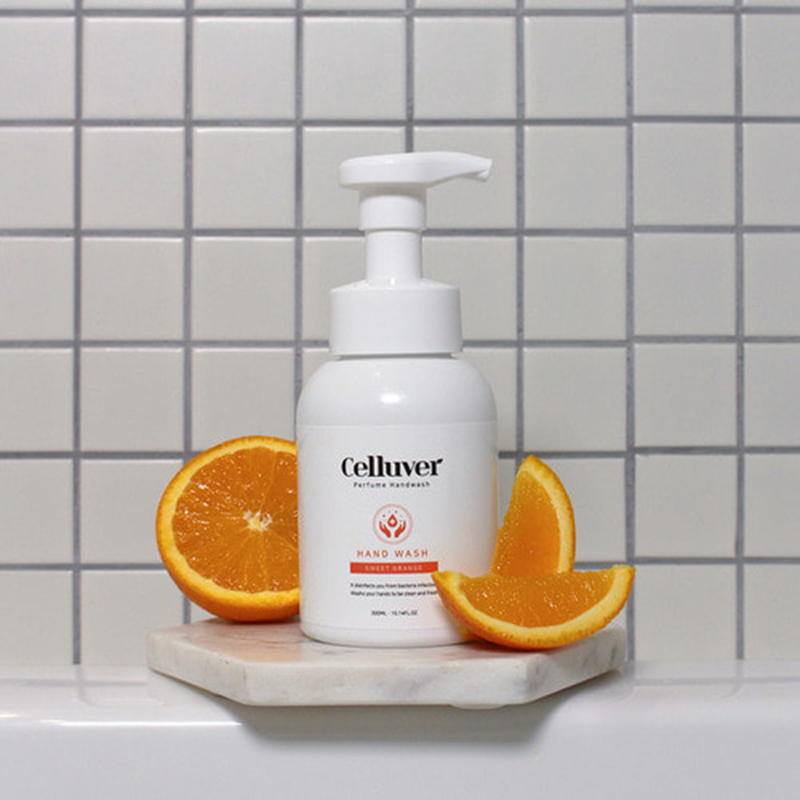 Celluver Perfume Hand Wash 300ml - Sweet Orange