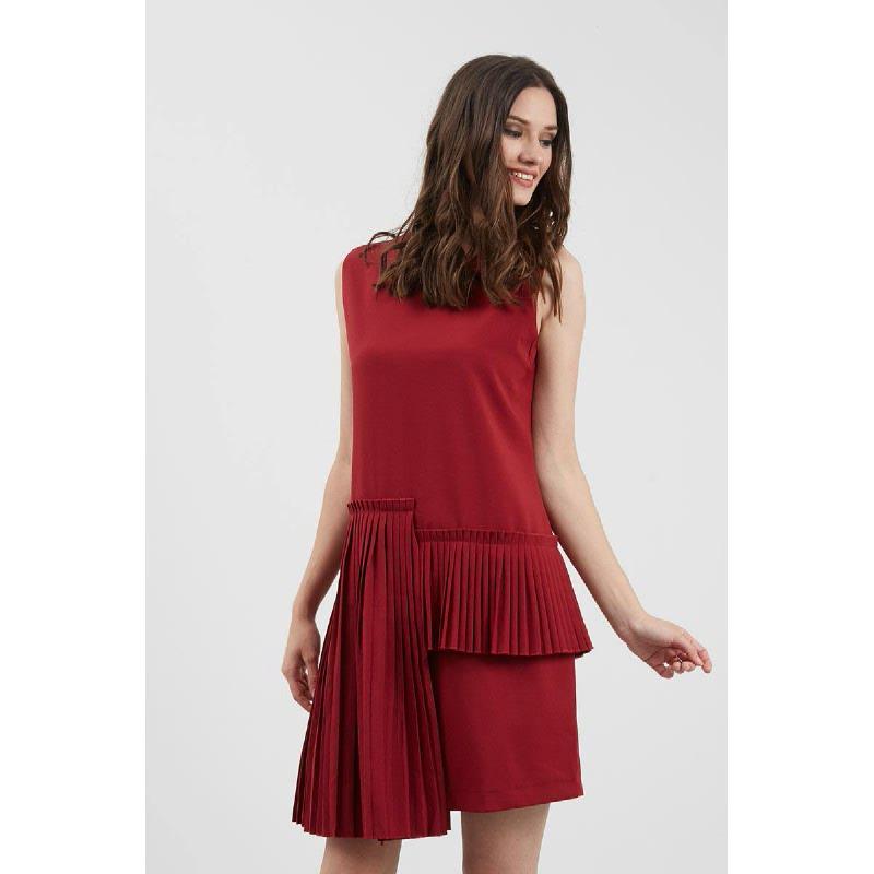 GW Kleve Dress in Maroon