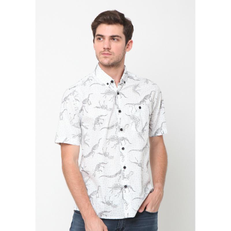 17Seven Shirts Shortshirt Lublin White