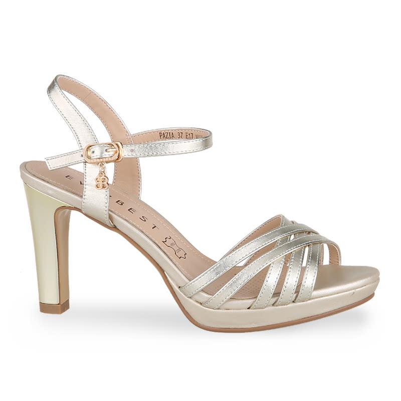 Everbest sandal Hak Tinggi Pazia Light Gold