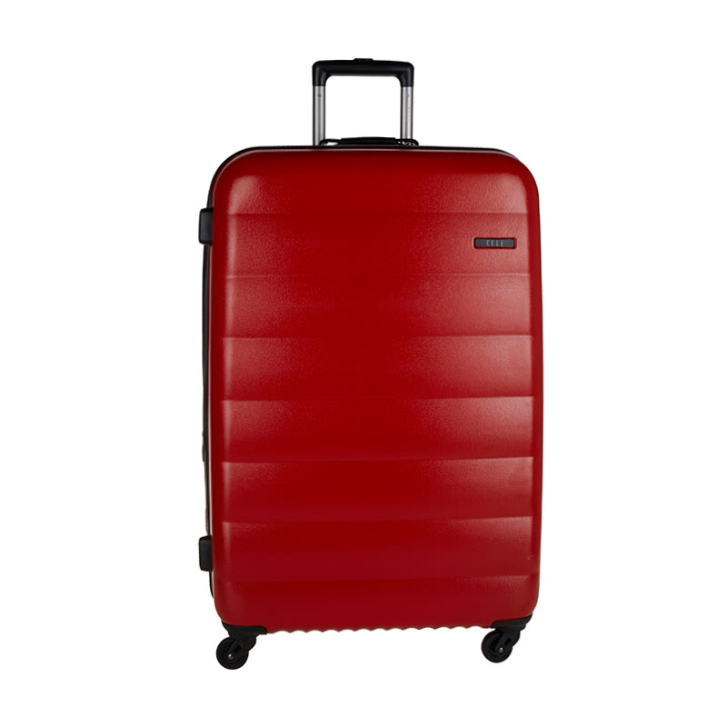 Elle Hardcase Luggage Size 29 inch 4 Wheels TSA Lock - Red
