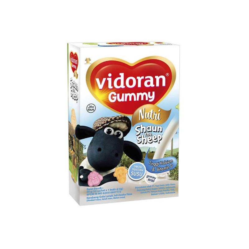 Vidoran Gummy Milk & Calcium 60 Gr