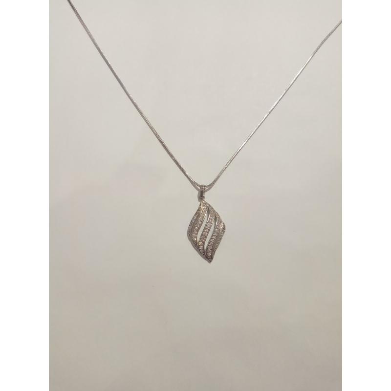 Ballin - Women Necklace FF N0087S Silver