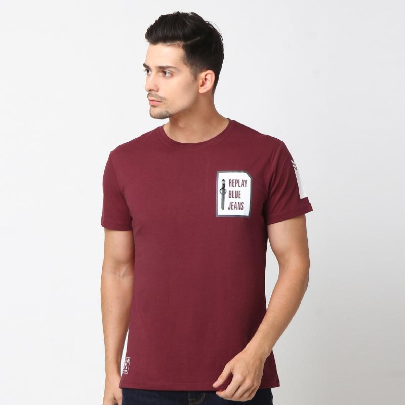 RBJ Tshirt Pria 25677038 Merah