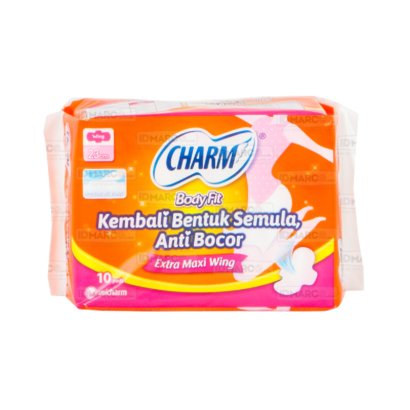 Charm Body Fit Extra Maxi Isi 10 pads
