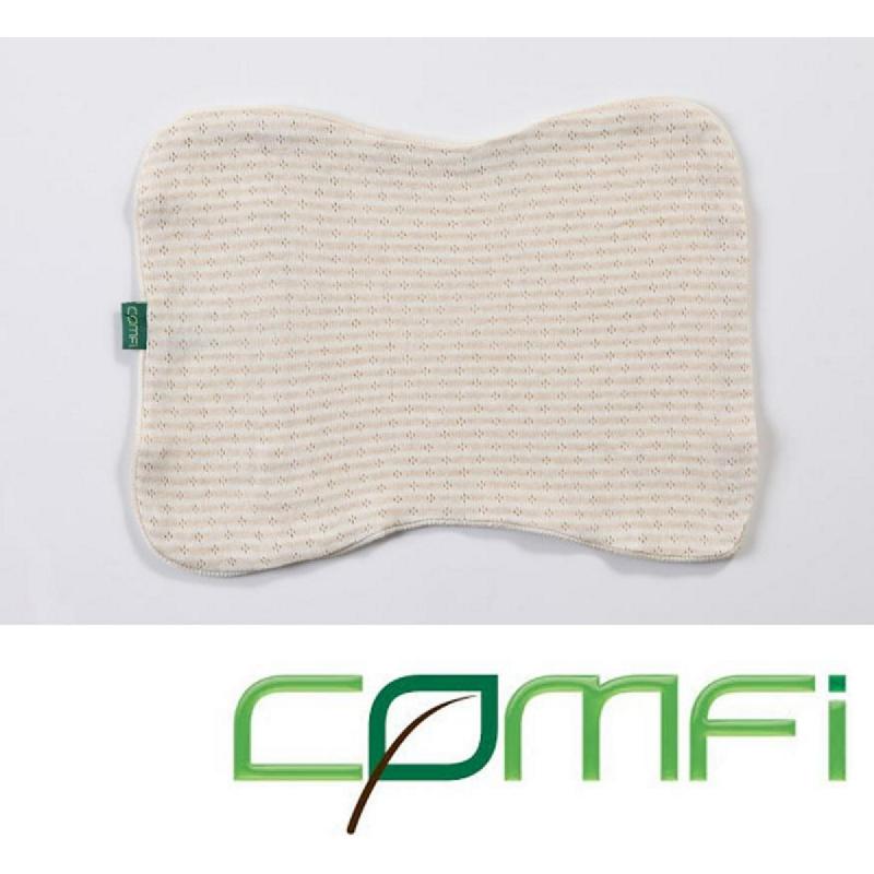 Comfi Sarung Bantal Organic Pillow Case Kids Cream