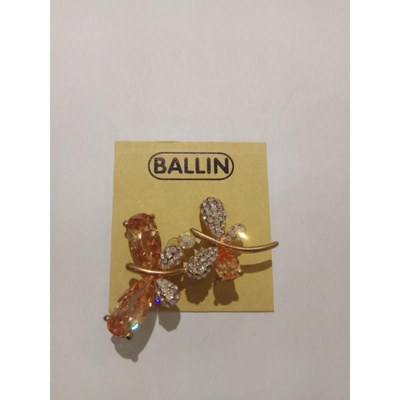 Ballin Women Brooch ML-BRO2478GT Silver