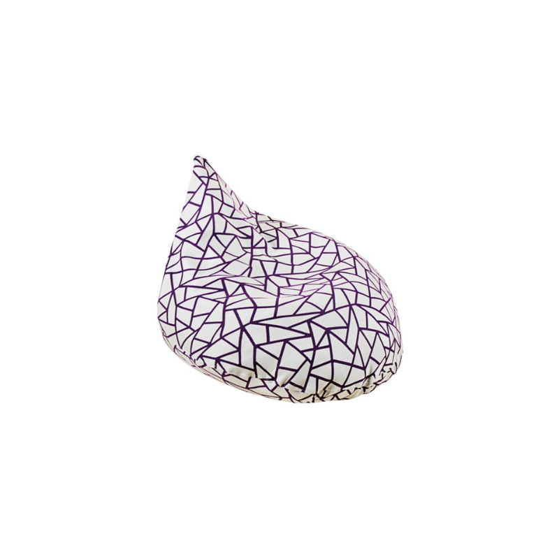 Beam and Co Teardrop Beanbag Stone Purple