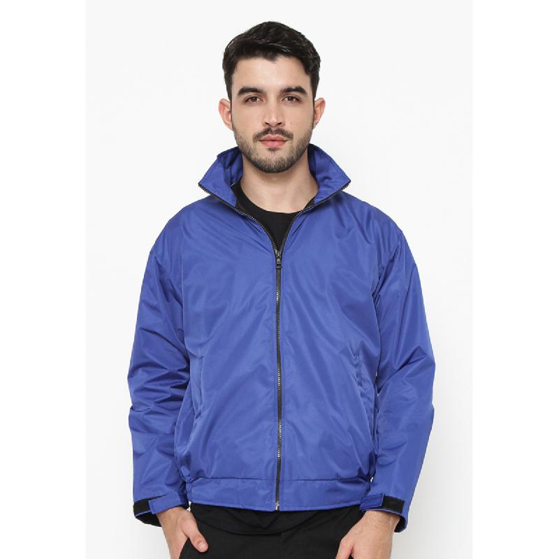 Ornith Taslan Blue Jacket By Ornith Blue