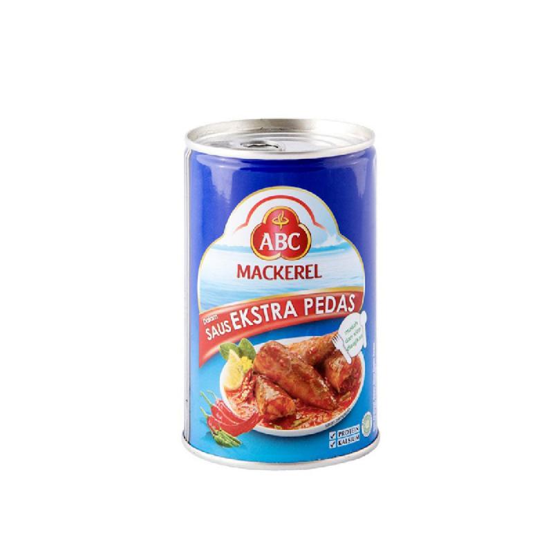 Abc Mackarel Extra Pedas 155G