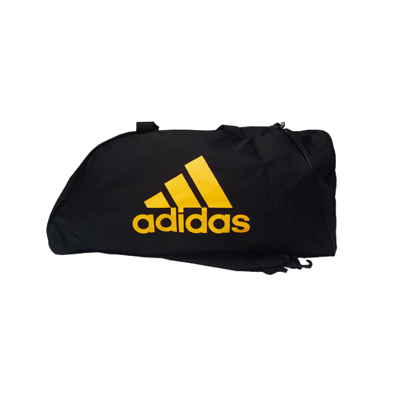 Adidas Combat Sport Bag With Strap Black Gold