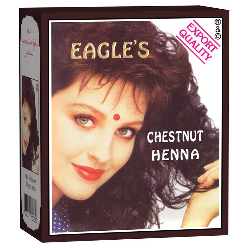 Eagle's Henna Hair Dyes Chestnut