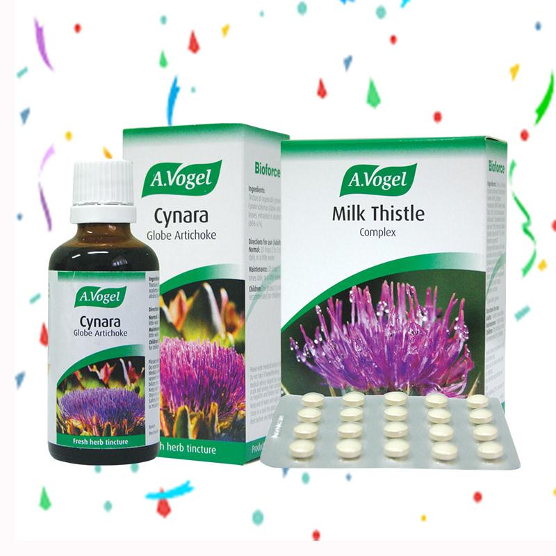 A.Vogel Cynara 50 ml + A.Vogel Milk Thistle Complex 60 Tablet