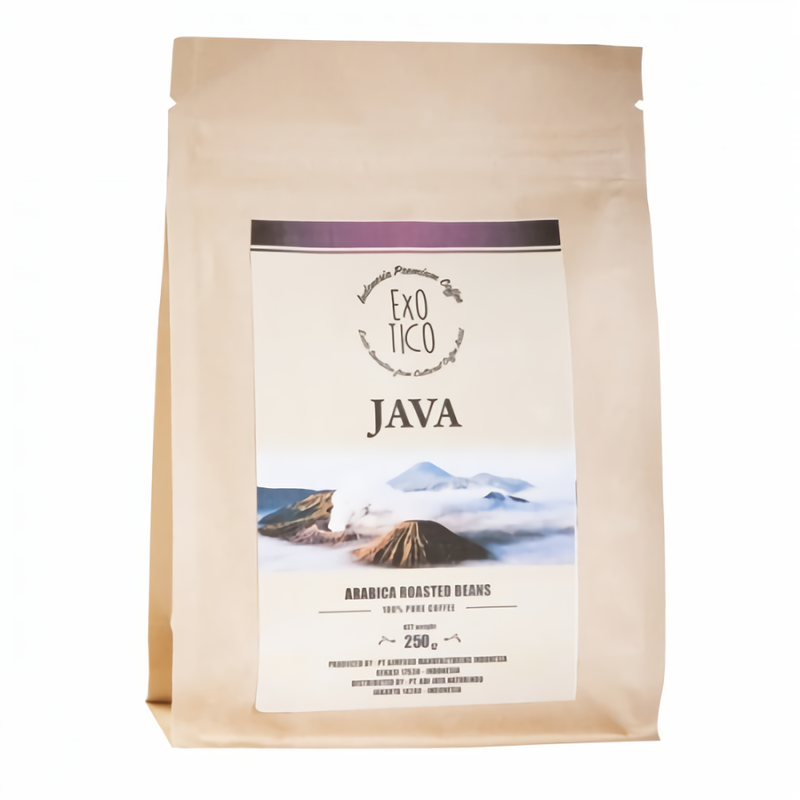Exotico Arabica Java Roasted Beans Coffee