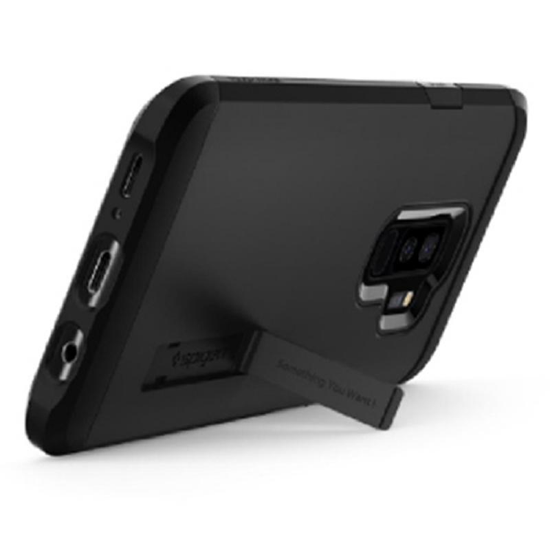 Spigen Galaxy S9+ Case Tough Armor - Black