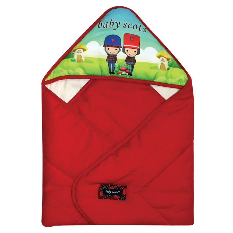 Baby2go Baby Blanket PrintBSB2101 Merah