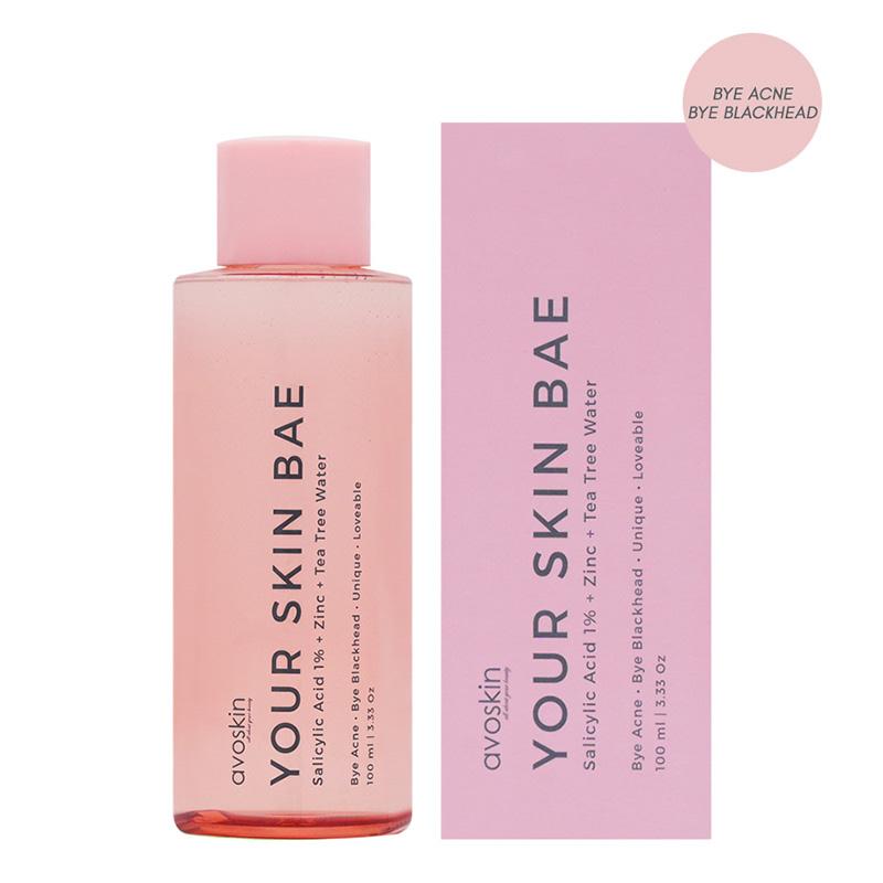 Avoskin Your Skin Bae Series Toner Salicylic Acid 1% + Zinc + Tea Trea Water