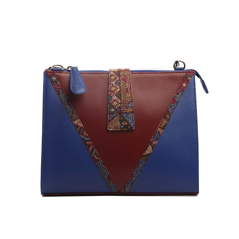 Warnatasku Shoulder Bag WT180203 Coklat Hitam