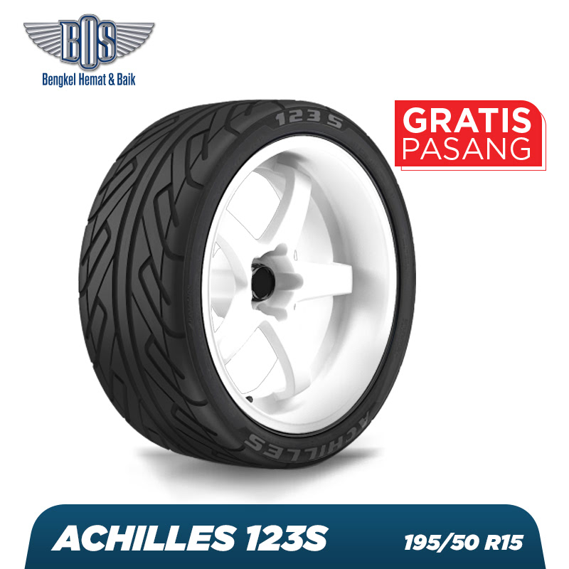 Achilles Ban Mobil  123S - 195-50 R15 82V - GRATIS JASA PASANG DAN BALANCING