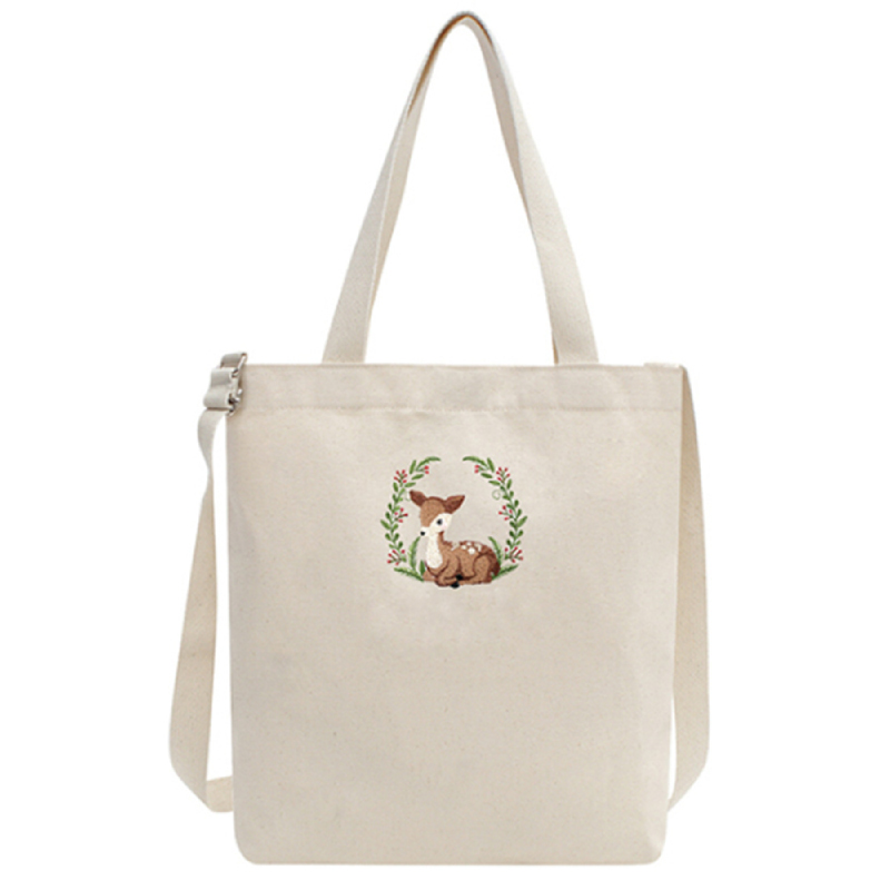 Okstar Formosan Deer Eco Bag-Cross Beige