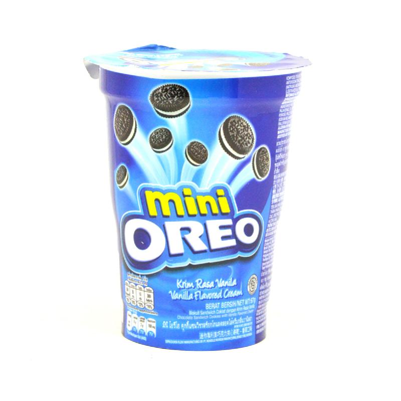 Oreo Mini Vanilla 67G