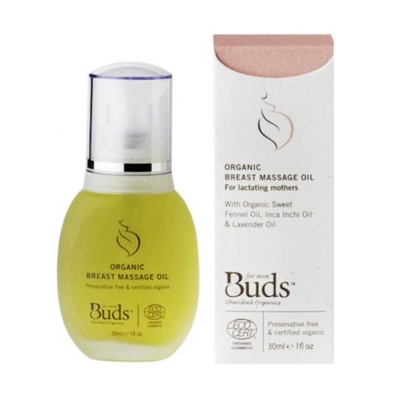 Buds Organic Breast Massage Oil [30 mL]