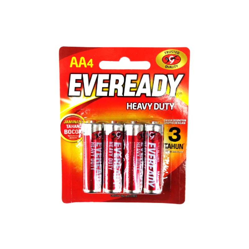 Eveready Baterai 1015 BP4 Merah Kecil