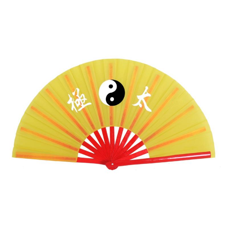 PROTEAM Kipas Wushu Yin Yang YELLOW