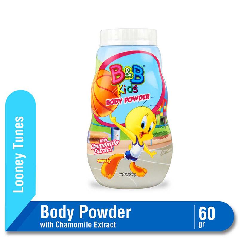 B&B Kids Body Powder Tweety 60 G