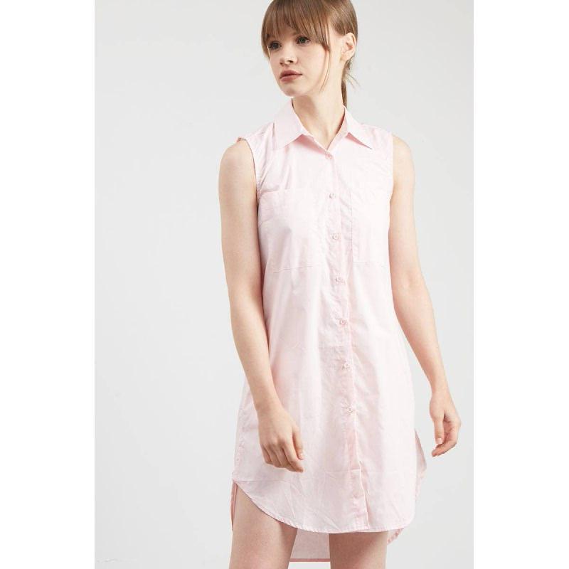 Gwen Hagen Sleeveless Top in Light Pink