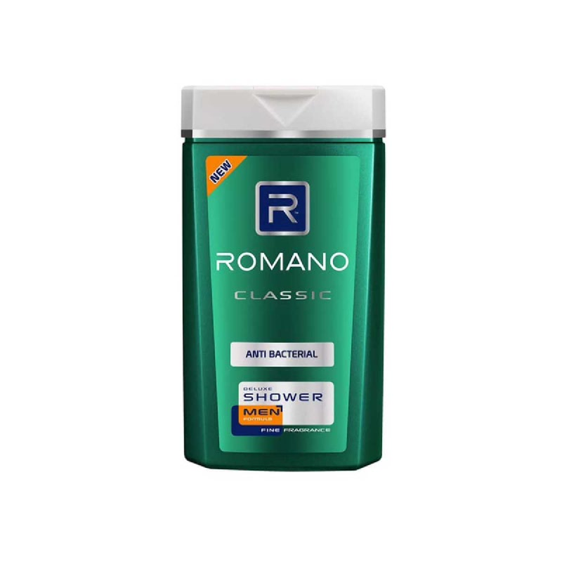 Romano Men Shower Classic Anti Bacterial 200 Ml