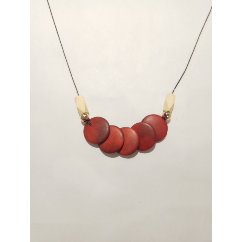 Ballin - Women Necklace GZ N1038 Red