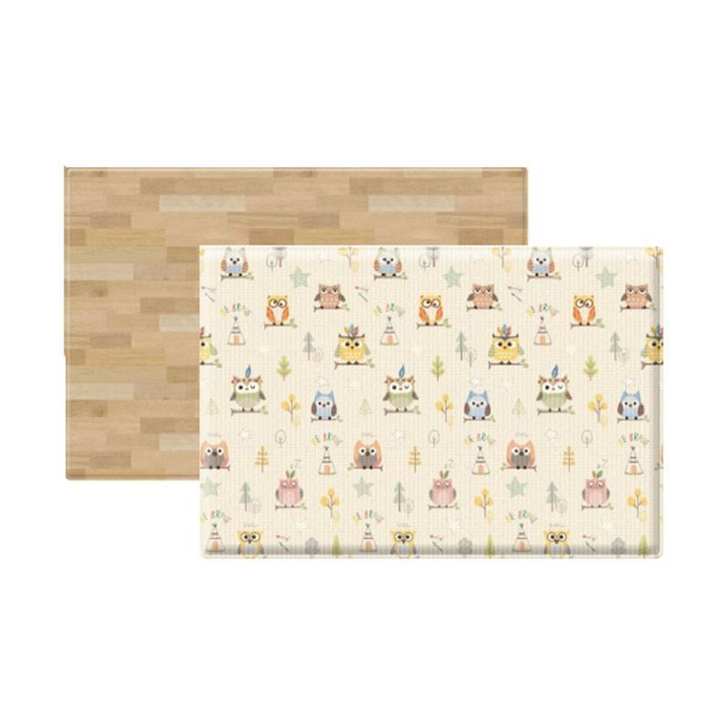 Coby Haus Owls and Wood Mat Alas Lantai [Size M]