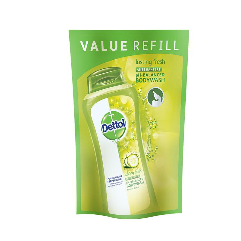 Dettol Bodywash Lasting Fresh Pch 450Ml