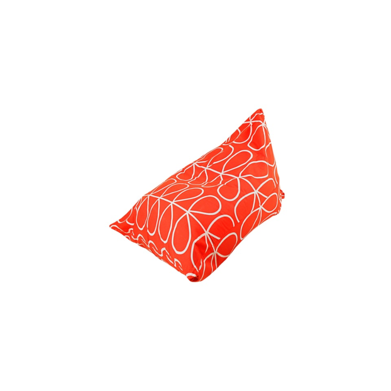 Beam and Co Pizza Beanbag Flora Orange Red