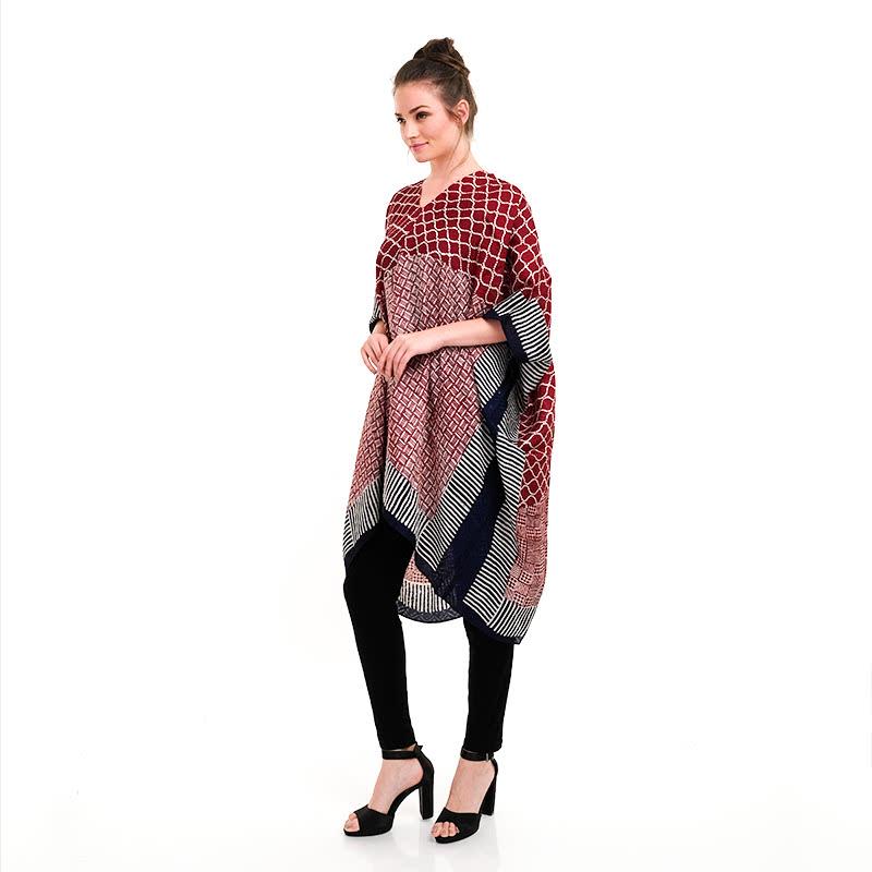 Batik Chic Kaftan Combination