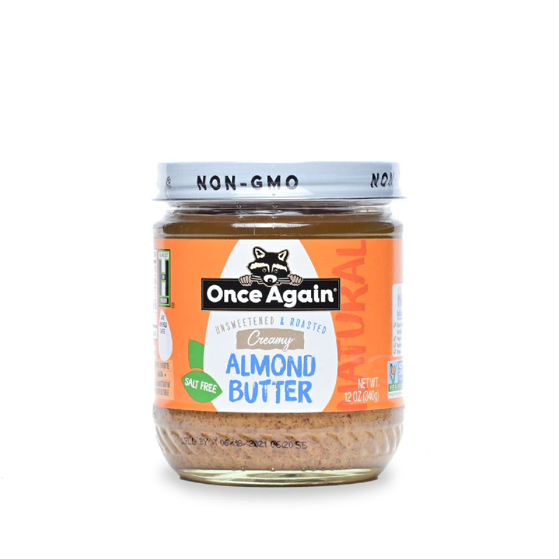 Almond Butter Smooth Once Again 340 gr