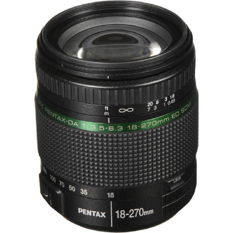 Pentax SMC DA 18-270MM F3.5-6.3ED SDM