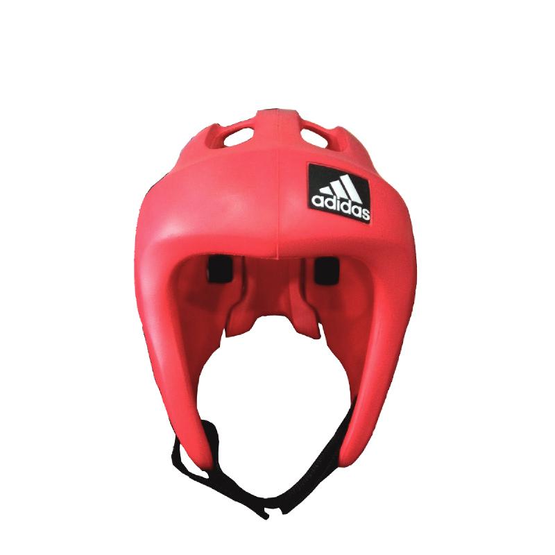 Adidas Combat New Head Guard Tkd Red