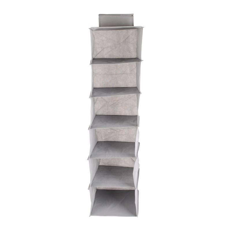 JYSK Storage Wall 6Layers 35187B 30X30X120Cm Grey